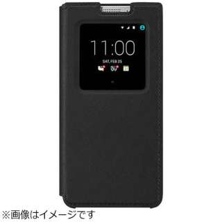 BlackBerry KEYone用 FLIP CASE ブラック FCB100