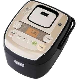 KRC-PA50-B 炊飯器 米屋の旨み 銘柄炊き ブラック [5.5合 /圧力IH]