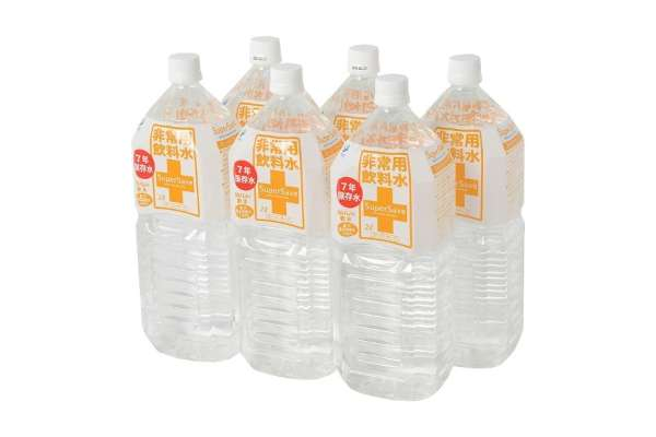 本当に必要なおすすめ防災グッズ 室戸マリンフーズ「非常用飲料水 スーパーセーブ7年」9009(2L)