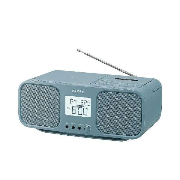 CFD-S401 ラジカセ ブルーグレー [ワイドFM対応 /CDラジカセ]