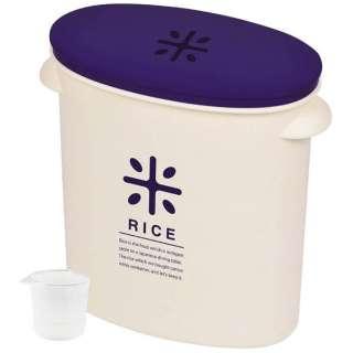 RICE お米袋のままストック(5kg用) HB-2166 ネイビー