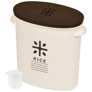 RICE お米袋のままストック(5kg用) HB-2168 ブラウン