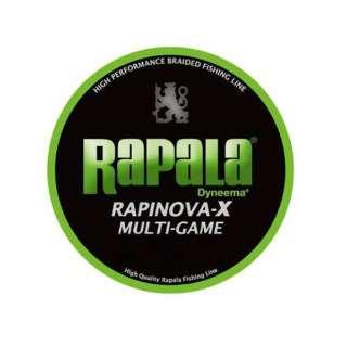 ライン ラピノヴァX マルチゲーム PE(150m・0.18号・ライムグリーン・6LB)