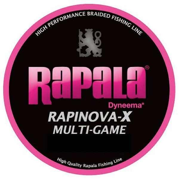 ライン ラピノヴァX マルチゲーム PE(150m・1.0号・ピンク)