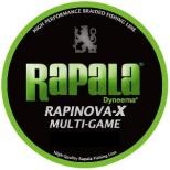 ライン ラピノヴァX マルチゲーム PE(150m・2.0号・ライムグリーン・32.8LB)