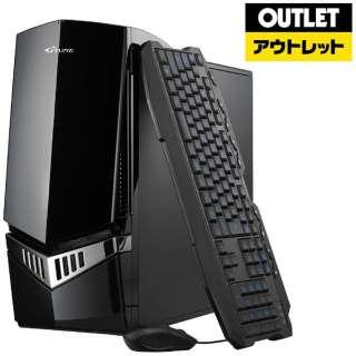 【アウトレット品】 ゲーミングデスクトップPC[Win10 HOME・Core i7・HDD 1TB・SSD 240GB・メモリ 8GB・GTX1060] NG-I7771TS24G106T 【生産完了品】