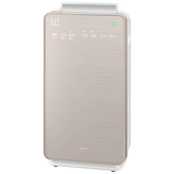 EPNVG110-N 加湿空気清浄機 自動おそうじ クリエア シャンパンゴールド [適用畳数:48畳 /最大適用畳数(加湿):22畳 /PM2.5対応]