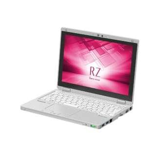 CF-RZ6NDFQR ノートパソコン Let's note(レッツノート)RZシリーズ レッツノートシルバー [10.1型 /intel Core m3 /SSD:128GB /メモリ:8GB /2017年10月モデル]