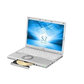 CF-SZ6PDLQR ノートパソコン Let's note(レッツノート)SZシリーズ レッツノートシルバー [12.1型 /intel Core i5 /SSD:128GB /メモリ:8GB /2017年10月モデル]