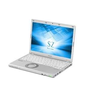 CF-SZ6PDYQR ノートパソコン Let's note(レッツノート)SZシリーズ レッツノートシルバー [12.1型 /intel Core i5 /SSD:256GB /メモリ:8GB /2017年10月モデル]