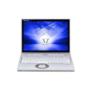 CF-XZ6PDAPR ノートパソコン Let's note(レッツノート)XZシリーズ レッツノートシルバー [12.0型 /intel Core i5 /SSD:128GB /メモリ:8GB /2017年10月モデル]