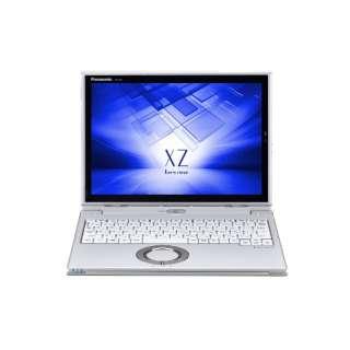 CF-XZ6PDCQR ノートパソコン Let's note(レッツノート)XZシリーズ レッツノートシルバー [12.0型 /intel Core i5 /SSD:256GB /メモリ:8GB /2017年10月モデル]