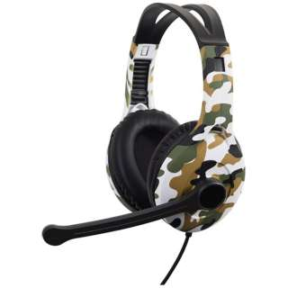 ゲーミングヘッドセット [USB /両耳 /ヘッドバンドタイプ]