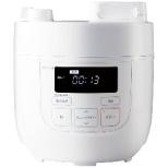 SP-D121 siroca 電気圧力鍋 SP-D121 ホワイト[圧力/無水/蒸し/炊飯/温め直し/コンパクト] siroca ホワイト