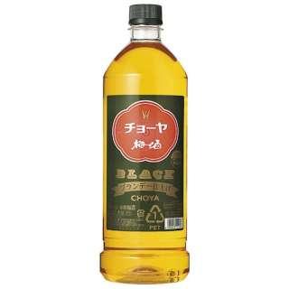 チョーヤ ブラック ペット 1800ml【梅酒】