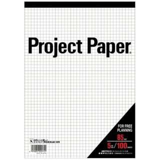 プロジェクトペーパーB5 5ミリ方眼 PPB55S