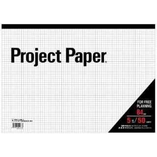 プロジェクトペーパーB4 5ミリ方眼 PPB45S