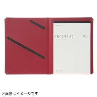 レポートパッドホルダーA4レッド THR00A5R