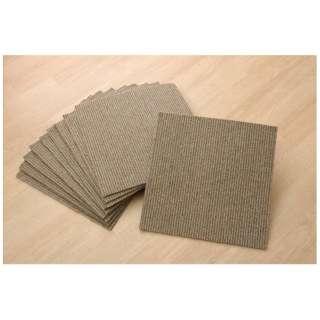 Rag adsorption tile carpet suddenly stripe (Class 40*40*0.6cm/ten pieces/beige)