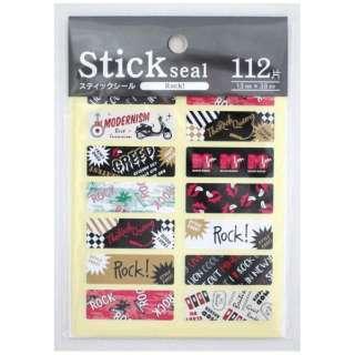 スティックシール Rock 62-181  【外装不良品】