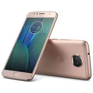 Moto G5s PLUSブラッシュゴールド「PA6V0087JP」 Snapdragon 625 5.5型・メモリ/ストレージ: 4GB/32GB nanoSIMx2 DSDS対応 ドコモ/YmobileSIM対応 SIMフリースマートフォン