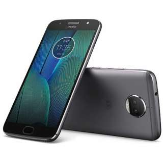 Moto G5s PLUSルナグレー「PA6V0074JP」 Snapdragon 625 5.5型・メモリ/ストレージ: 4GB/32GB nanoSIMx2 DSDS対応 ドコモ/YmobileSIM対応 SIMフリースマートフォン