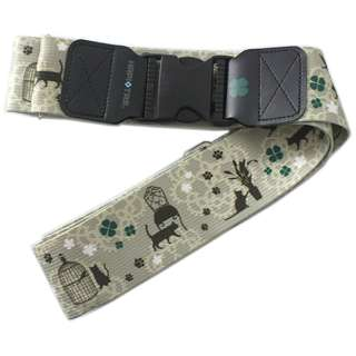 バックル式スーツケースベルト HAP7004267 キャットルームベージュ