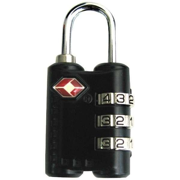 TSAロック付スーツケースベルト Z2217 ブラック