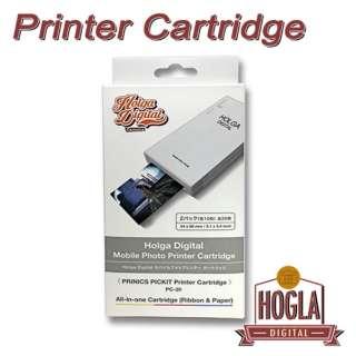 ホルガデジタル モバイル フォトプリンター用 カートリッジ (2パック 各10枚:全20枚) HOLGA-CARTRIDGE