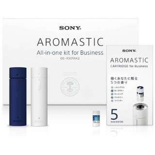 アロマディフューザー 「AROMASTIC オールインワンキット for Business」 OE-AS01AK2