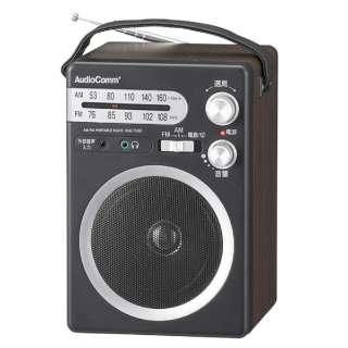 RAD-T555Z ホームラジオ AudioComm [AM/FM /ワイドFM対応]