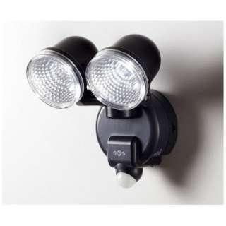【屋外用】ダイシン 「乾電池式センサーライト 2灯式」 DLB-2T100