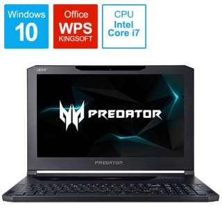Predator Triton 700 ゲーミングノートパソコン オブシディアンブラック PT715-51-A76Y [15.6型 /intel Core i7 /SSD:512GB /メモリ:16GB /2017年10月モデル]