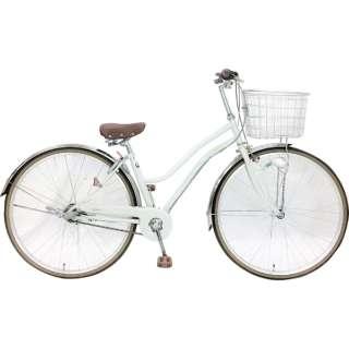 27型 自転車 レセファロシティ(ホワイト/内装3段変速) CDA-W273R-HD-BAA-BC 【組立商品につき返品不可】