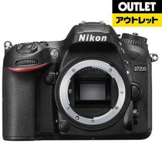 【アウトレット品】 デジタル一眼レフカメラ D7200 [ボディ単体] ブラック 【生産完了品】
