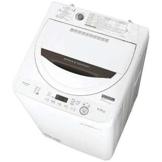 ES-GE5B-T 全自動洗濯機 ブラウン系 [洗濯5.5kg /乾燥機能無 /上開き]