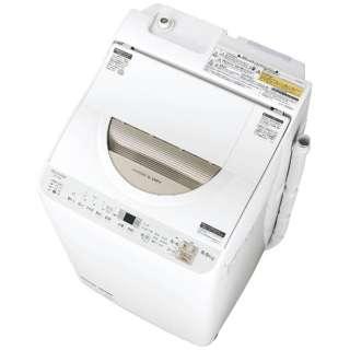 ES-TX5B-N 縦型洗濯乾燥機 ゴールド系 [洗濯5.0kg /乾燥3.5kg /ヒーター乾燥(排気タイプ) /上開き]