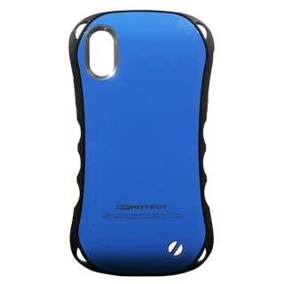 iPhone X用 Eprotect Case ブルー TPS08EL