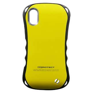 iPhone X用 Eprotect Case イエロー TPS08EY