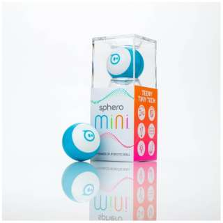 Sphero Mini ブルー [M001BAS]〔スマートトイ+プログラミング学習〕【STEM教育】