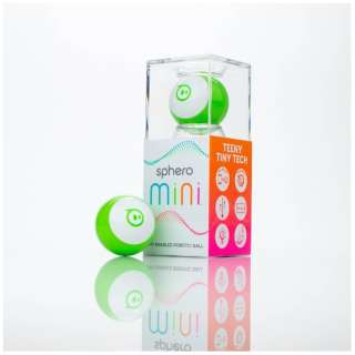 Sphero Mini グリーン [M001GAS]〔スマートトイ+プログラミング学習〕【STEM教育】