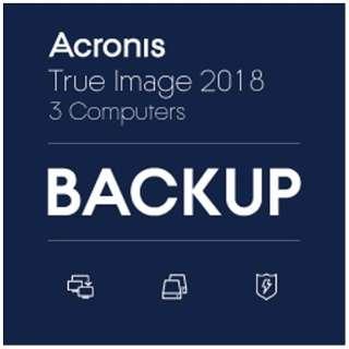 AcronisTrueImage2018-3Computers【ダウンロード版】
