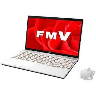 FMVA53B3W ノートパソコン LIFEBOOK(ライフブック) プレミアムホワイト [15.6型 /intel Core i7 /HDD:1TB /メモリ:8GB /2017年1月モデル]