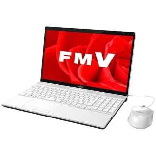 FMVA45B3W ノートパソコン LIFEBOOK(ライフブック) プレミアムホワイト [15.6型 /intel Core i3 /HDD:1TB /メモリ:4GB /2017年11月モデル]