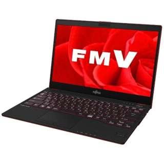 FMVU75B3R ノートパソコン LIFEBOOK(ライフブック) サテンレッド [13.3型 /intel Core i5 /SSD:128GB /メモリ:4GB /2017年11月モデル]