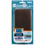 new2DSLL用本体カバー シリコンプロテクタ ブラック N2F1995[New2DS LL]