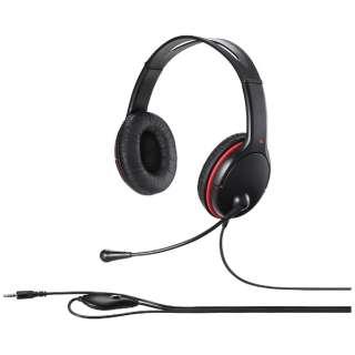 BSHSHCS300BK ヘッドセット ブラック [φ3.5mmミニプラグ /両耳 /ヘッドバンドタイプ]