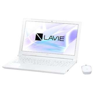 PCNS230JAW ノートパソコン LAVIE Note Standard エクストラホワイト [15.6型 /intel Celeron /SSD:256GB /メモリ:4GB /2017年10月モデル]