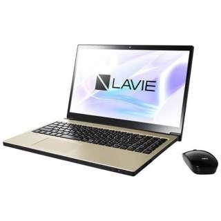 PC-NX750JAG ノートパソコン LAVIE Note NEXT グレイスゴールド [15.6型 /intel Core i7 /HDD:1TB /メモリ:8GB /2017年10月モデル]