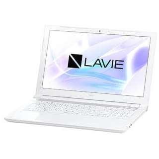 PC-NS630JAW ノートパソコン LAVIE Note Standard エクストラホワイト [15.6型 /intel Core i7 /SSD:256GB /メモリ:4GB /2017年10月モデル]